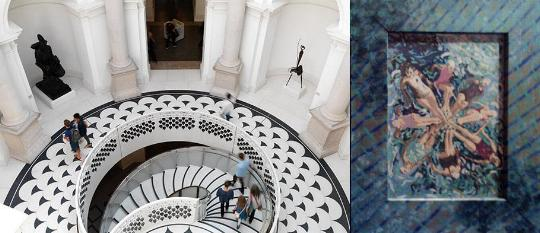 Left To Right The New Grand Staircase In Tate Modern Part Of London Journal Reportin A Art Blog Synch Or Sink By Patricia Frhischer
